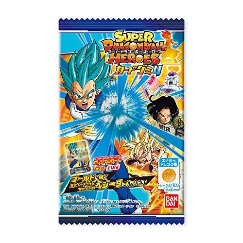 スーパードラゴンボールヒーローズ カードグミ4 20個入 食玩・キャンディー (ドラゴンボール超) バンダイ(BANDAI) -