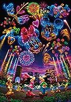 1000ピース ジグソーパズル ディズニー 花火に想いをのせて… 【ホログラムジグソー】(51x73.5cm)