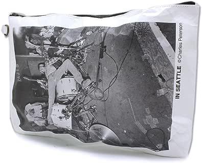 MATATABI TYVEK strap Clutch Bag feat.Charles Peterson