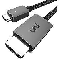 USB Type C HDMI 変換ケーブル 4K高解像度で在宅ワーク [1.8m/ HDMI USB C / Thun…