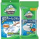 【まとめ買い】 スクラビングバブル トイレ洗剤 流せるトイレブラシ 本体ハンドル1本 付替用16個セット