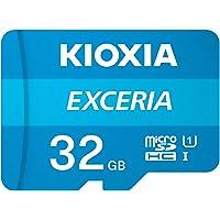 microSDHC 32GB EXCERIA 超高速UHS-I KIOXIA(旧東芝メモリー) + SDアダプター…