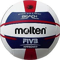 molten(モルテン) ビーチバレーボール V5B5000 白×青×赤