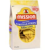 Mission Original Tortilla Strips, Yellow Corn Chips, 230g
