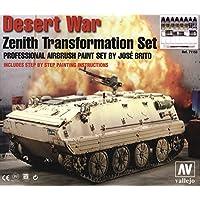 Vallejo Paint for Desert War Transformation Set