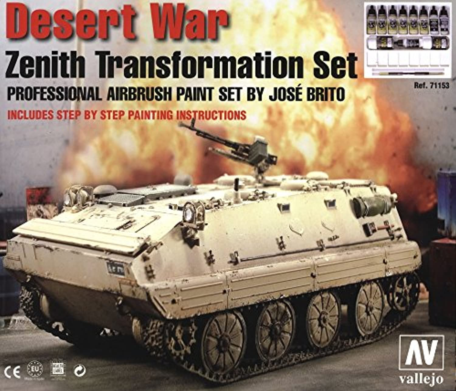 Vallejo Paint for Desert War Transformation Set