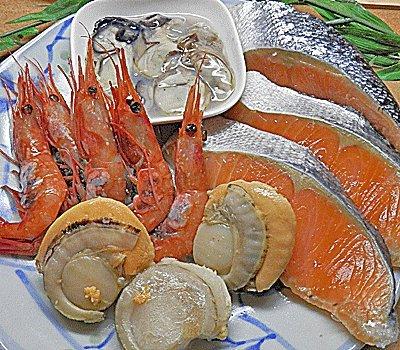 海鮮 寄せ鍋 セット 4品 Bセット 海鮮 バーベキュー 鉄板焼き バター焼き 等にも 海鮮鍋 セット 2-3人前が目安 @ 海鮮 水炊き セット 磯鍋 セット