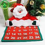 Kicode 垂れ クリスマス アドベントカレンダーサンタクロース クリスマスフェスティバル ホームペンダントの飾り デコレーションインテリア クラフトギフト