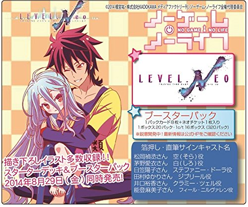 LEVEL.NEO (レベル・ネオ) ノーゲーム・ノーライフ ブースターパック (LN-BS04) BOX