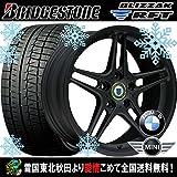 【16インチ】BMW 3シリーズ(F30/F31)用 スタッドレス 205/60R16 ブリヂストン ブリザックRFT ランフラット レーシングダイナミクス RD3(MB) タイヤホイール4本セット 輸入車