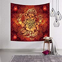 寝室の装飾のためのインド象ヒッピー自由ho放に生きるタペストリー壁掛けブランケット lutingstore (Color : 4, サイズ : 200x150cm)