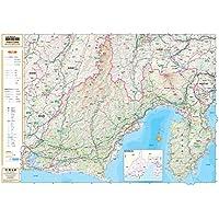 スクリーンマップ 分県地図 静岡県 (ポスター地図 | マップル)
