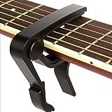 Guitar Capo,acoustic Guitar String,Electric String Electric Guitar Capo- Banjo and,for Acoustic,Ukulele, Mandolin, Bass, Pick