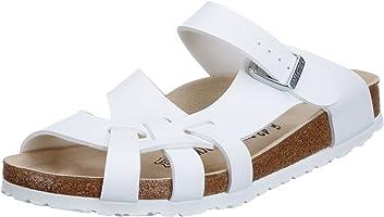 Birkenstock Pisa Regular Fit - White 075731 (Man-Made) Womens Sandals 43 EU