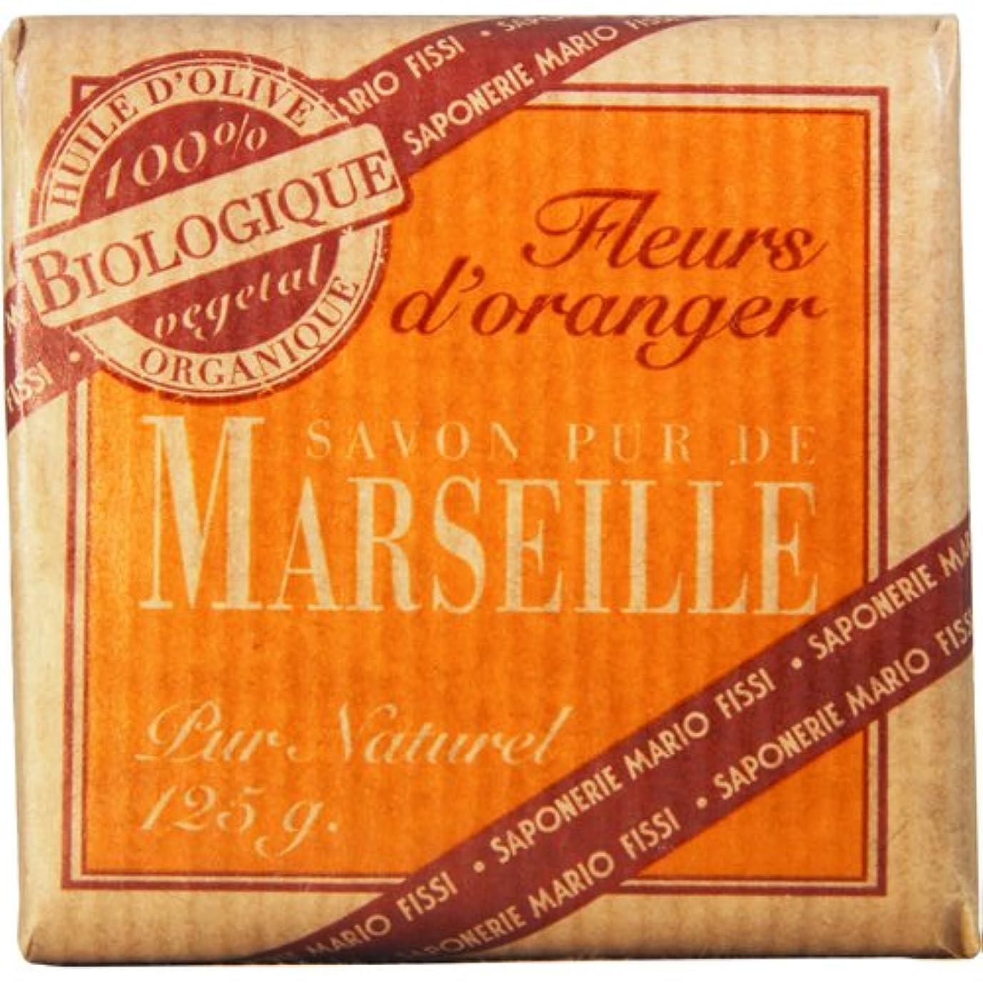 カバレッジリール名目上のSaponerire Fissi マルセイユシリーズ マルセイユソープ 125g Orange Flower オレンジフラワー