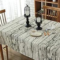 Venenos 家の綿および麻のティーテーブルの木製の生地のテーブルクロスのホテルのホーム会議のテーブルクロス (Color : 02, Size : 100*140CM)
