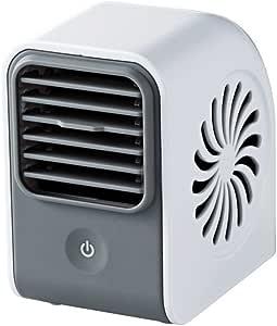 【2012年モデル】ELECOM USB扇風機 ボックス型 強風 ホワイト FAN-U20WH