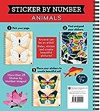 Brain Games Sticker by Number Animals 画像