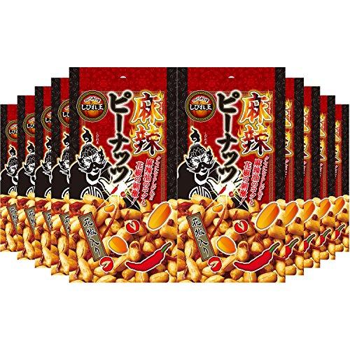 アライド 四川料理しびれ王 麻辣ピーナッツ花椒入り 65g×10個