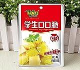 Amazon.co.jp新商品 中華ザーサイ 味聚特学生口口脆搾菜 中華漬物 93g 無添加 中華物産