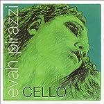 Pirastro Evah Pirazzi 4/4 Cello A String Medium Chromesteel-Steel 【TEA】 [並行輸入品]