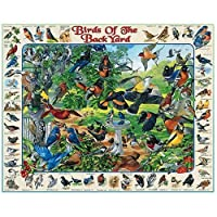 White Mountain Puzzles Birds of the Backyard - 1000 Piece Jigsaw Puzzle by White Mountain Puzzles