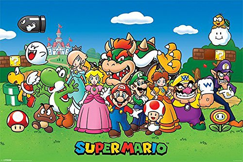 Super Mario Poster Characters ...