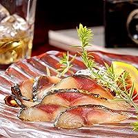 ディメール 鯖のスモーク スライス 約50g(20℃程に冷やした桜のチップ燻製、表面は香ばしく、中はしっとりジューシーな鯖の冷温燻製)