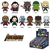 Marvel(マーベル) Avengers: Infinity War(アベンジャーズ/インフィニティ?ウォー) 3Dフィギュラル?キーリング(コレクターキーリング) SERIES 1 ブラインド仕様 1パック単品販売 [並行輸入品]