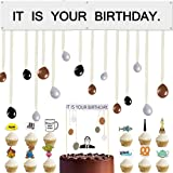 It is Your Birthday Banner, The Office Dwight Theme Infamous Husband Birthday Party Decorations The Office Cake Topper Party