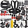 Erligpowht アウトドアスポーツ アクセサリーホルダーセット for gopro hero 4/3+/3/2/1/SJ 4000 5000カメラ スカイダイビング/水泳/サイクリング/スキー/登山/ノーボード/ サーフィン交換アクセサリーキット