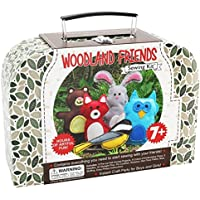 Craftster's Sewing Kits Woodland Animals Craft Educational Sewing Kit for 7 to 12 Age Kids [並行輸入品]