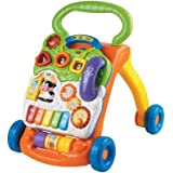 VTech 80-077001 Sit-to-Stand Learning Walker,Orange