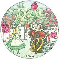 ミノダ Disneyスタンダード 刺しゅう入りポケットミラー 不思議の国のアリス D01M9052