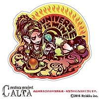 CALTA-ステッカー- UNIVERSE IS MINE (1.Sサイズ)