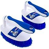MR.SIGA Scrub Brush - Pack of 2