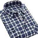 S.Flavor メンズ 長袖 シャツ ネルシャツ カジュアルシャツ