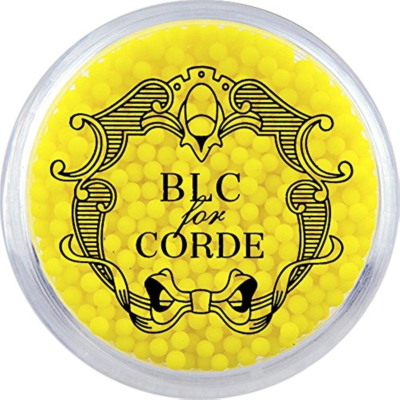 悪性の過激派温室BLC FOR CORDE ガラスブリオン イエロー