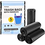 Small Trash Bags 5 Gallon 100 Count Garbage Bags Non-polluting and Biodegradable Trash Can Liners 20 Liter Wastebasket Bags f