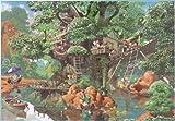 1000ピース ジグソーパズル ディズニー ふしぎの森のツリーハウス [隠し絵](51x73.5cm)
