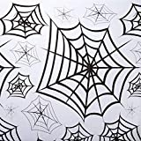 Spiderweb Clear Plastic Tablecover クモの巣クリアプラスチックTablecover ?ハロウィン?クリスマス?