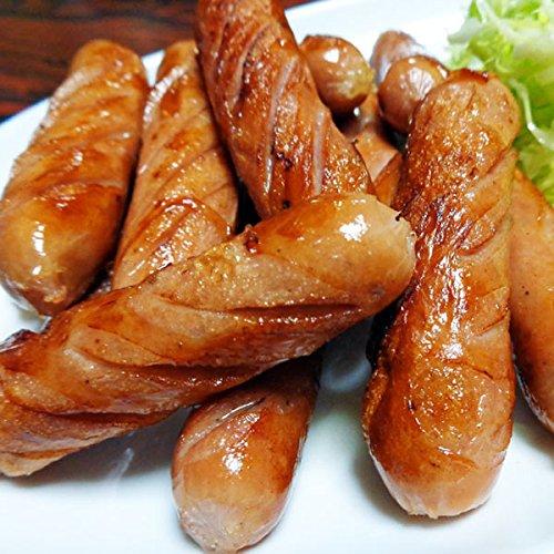 純国産豚肉・ポークソーセージと大人気ブラジルの最高品種プロ仕様業務用ソーセージの2キロセット