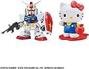 SD Gundam EX Standard Hello Kitty/RX-78-2 Gundam Color Coded Plastic Model
