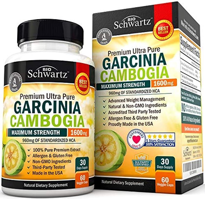 バースかび臭いアフリカGarcinia Cambogia Pure Extract 1600mg  ガルシニアカンボジア