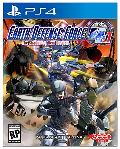 USA, Inc. Earth Defense Force 4.1 The Shadow of New Despair 輸入版:北米 - PS4