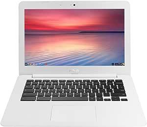 【日本正規品】 ASUS ノートブック Chromebook ホワイト ( Chrome OS / 13.3inch / Celeron N2830 / 4G / 16G EMMC / 日本語キーボード ) C300MA-WHITE