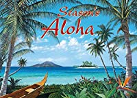 Westmoreland Pacifica Island Art ハワイアンクリスマスカードセット (12) トロピック 旅行