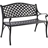 Gardeon Outdoor Garden Bench Chairs Seats Metal Patio