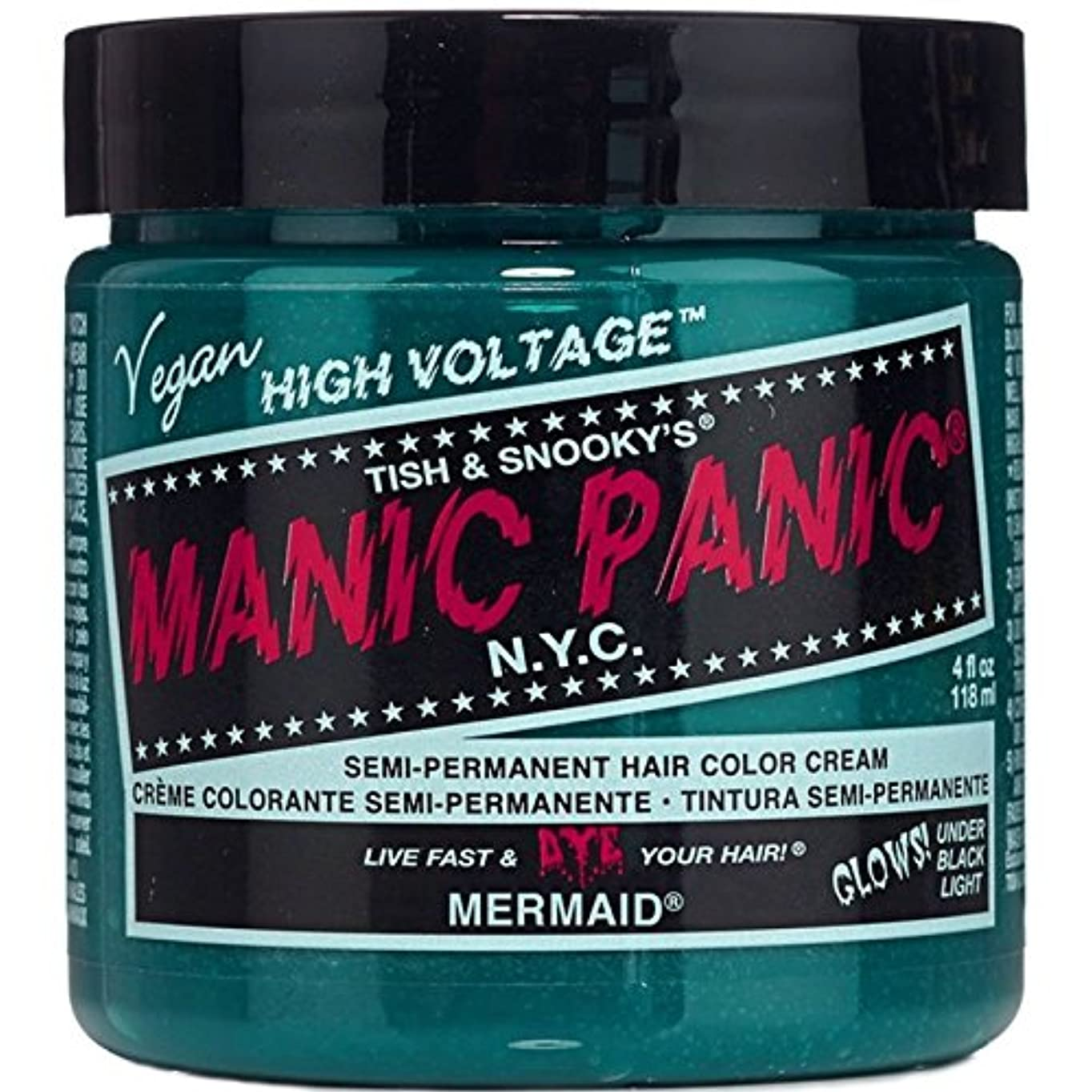 胆嚢人事自発的スペシャルセットMANIC PANICマニックパニック:MERMAID (マーメイド)+ヘアカラーケア4点セット
