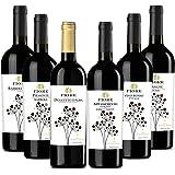 北イタリア、ピエモンテ産のワインが揃ったディナーにお勧め6本セット (750mlx6) [イタリア/Amazon.co.jp限定/winery direct]